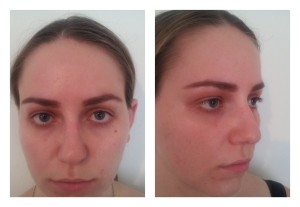 Eyebrows using ELF brow kit