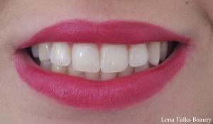 Revlon Lip Butter - Raspberry Pie on lips