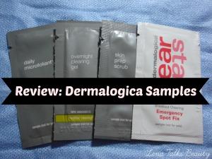 Dermalogica Daily Microfoliant, Spot Clearing Fix, Overnight Clearing Gel, Skin Prep Scrub review