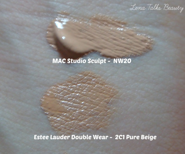 Estee Lauder Double Wear vs MAC Studio Sculpt