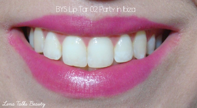 BYS Lip Tar 02 Party in Ibiza swatch