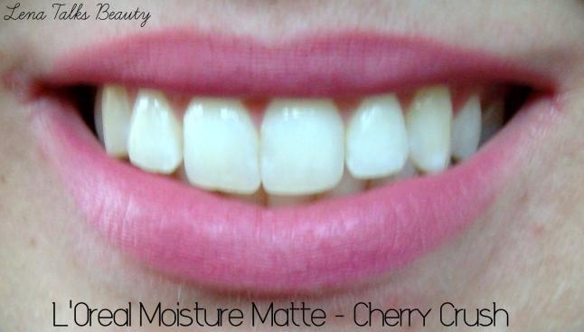 L'Oreal Moisture Matte Cherry Crush