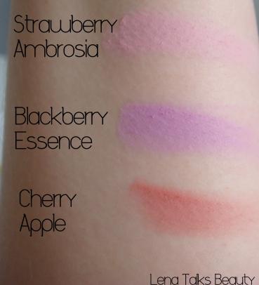 Sigma creme de couture macaron collection blush swatch