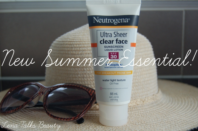 Neutrogena Ultra Sheer Clear Face Sunscreen