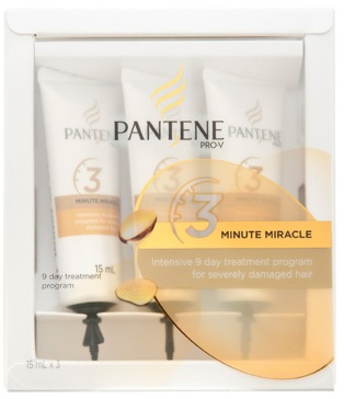 Pantene pro-v 3 minute miracle